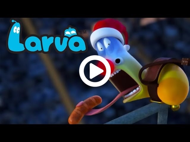(Official) LARVA - Christmas Is Around The Corner | Funny Cartoons For Children | LARVA Official