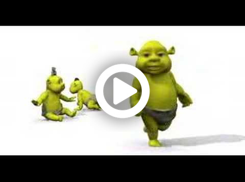 Baby Shrek - Move it :D